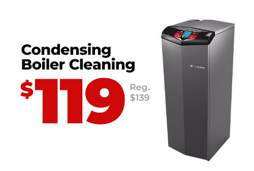 Condensing Boiler Cleaning Coupon