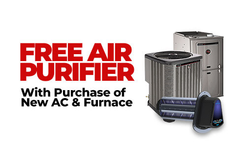 Free Air Purifier with AC & Furnace Purchase