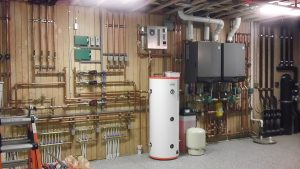 Geothermal Installation in Iowa
